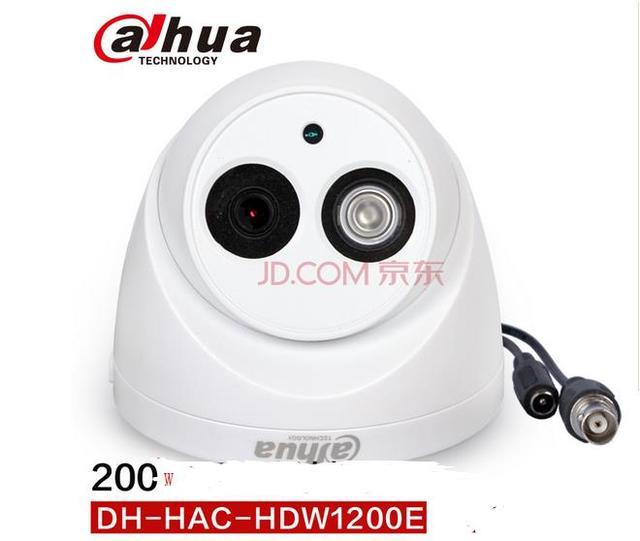 """Dahua hdcvi câmera dome 1/2. 9 """"cmos 2 megapixel 1080 p ir 20 m ip66 hac-hdw1200e dahua cctv câmera de segurança dahua câmera coaxial"""