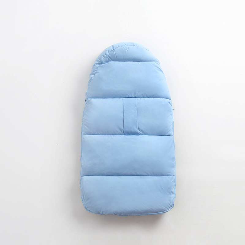 Купить с кэшбэком 0-2 Years Baby Sleeping Bag Warm Newborn Thicken Envelopes For Baby Stroller Infant Blanket Winter Sleep Sack