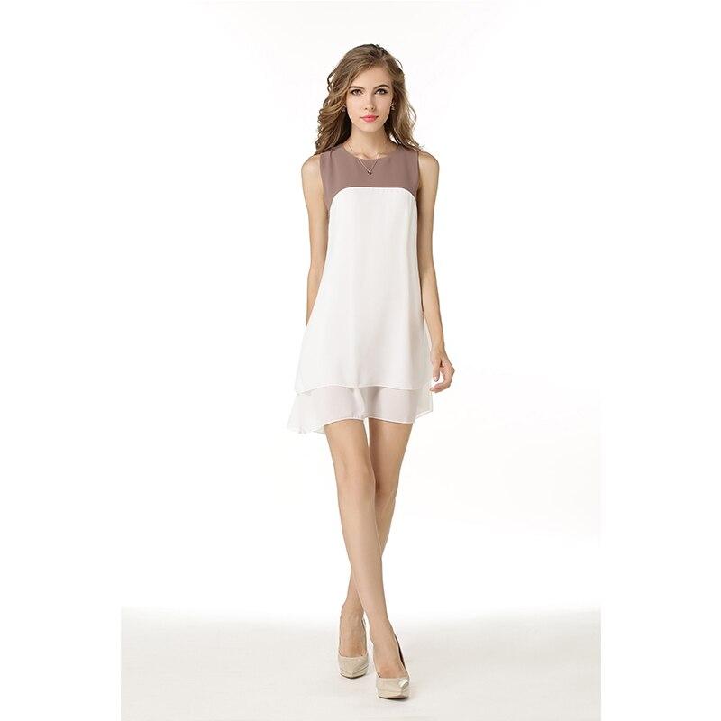 323 48 De Descuentonuevo Vestido De Verano De 2018 Para Mujer Vestido De Fiesta De Chifón Para Playa Vestidos De Fiesta Para Chicas Ropa Blanca