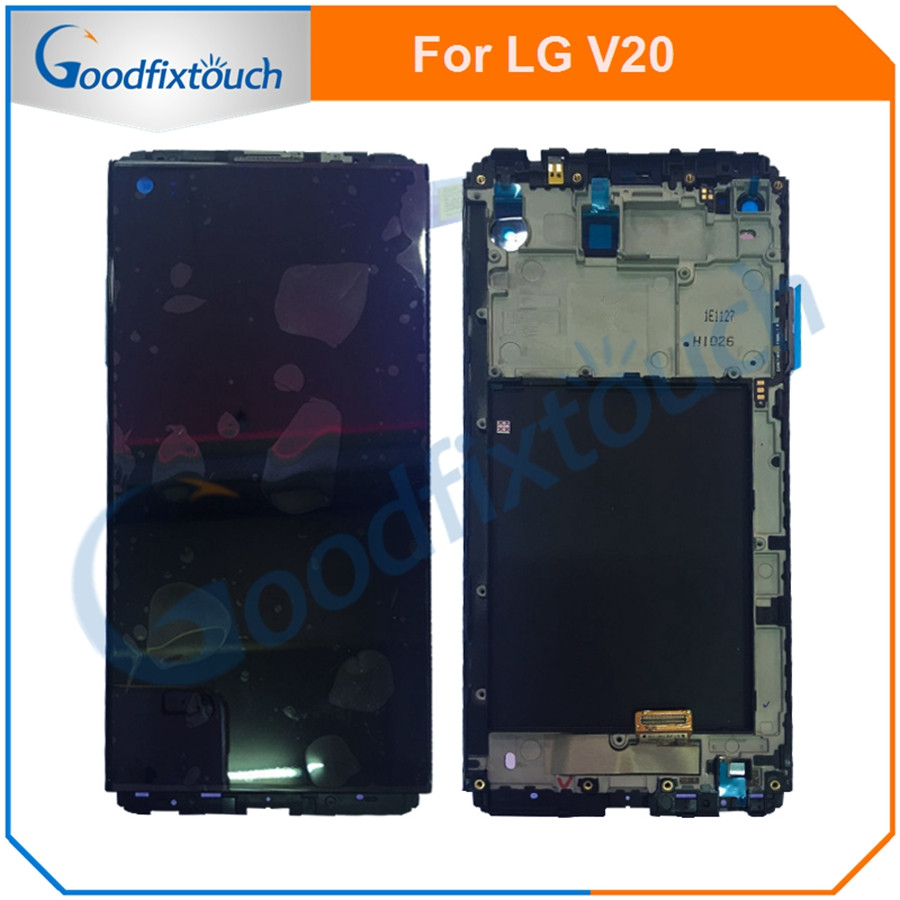 For <font><b>LG</b></font> <font><b>V20</b></font> LCD <font><b>Display</b></font> Touch Screen Digitizer Assembly With Frame Replacement Parts VS995 VS996 LS997 H910 5.7