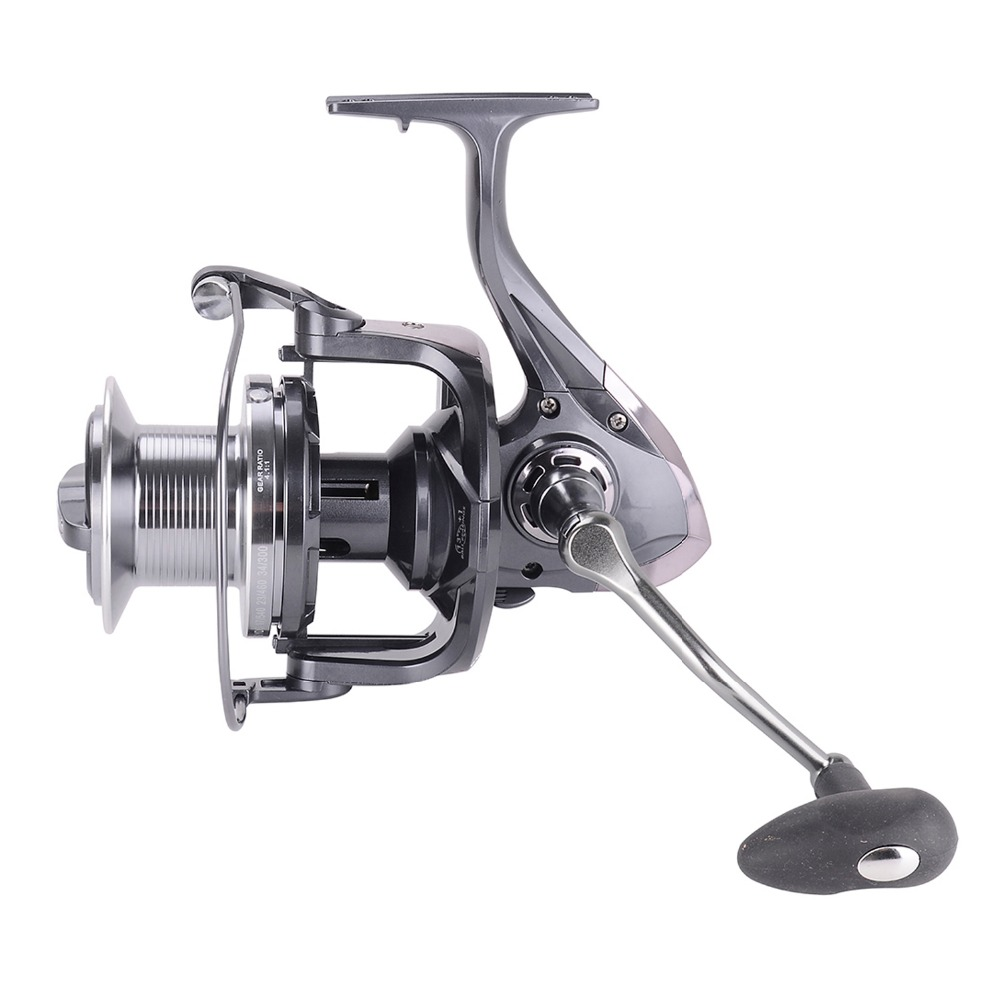 8000 - 10000 Saltwater Boat Fishing Big Game Spinning Reel 12+1 BB 4.1:1 Surf Fishing Reel CNC Handle Distant Wheel For Pesca ваза ninaglass дана цвет шоколад высота 16 см