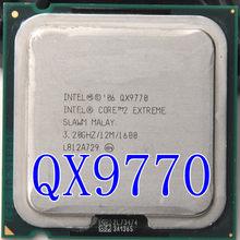 Intel core 2 extreme qx9770 qx9770 12m cache, 3.2ghz, 1600 mhz fsb lga775 desktop cpu corretamente, processador de desktop, frete grátis