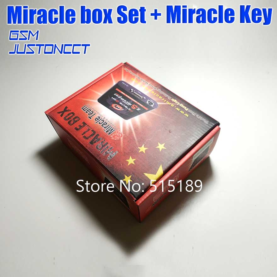 Original New Miracle box +Miracle key with cables ( V2 48