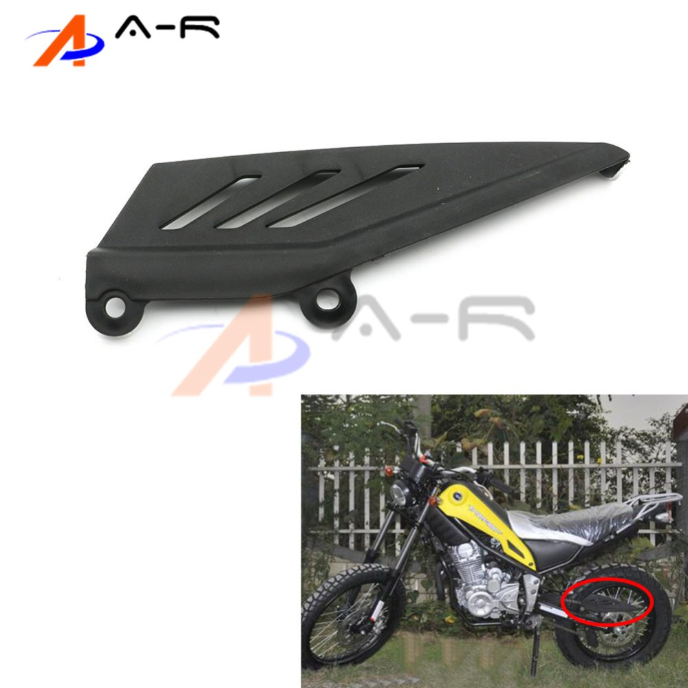 ABS Motocross Chain Guard Cover Rear Fender Mudguard for YAMAHA XG 250 Tricker XG250 Off Road Bike постельное белье morris and co willow bough sage green 1 5 спальное