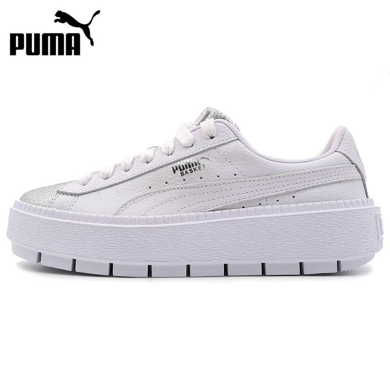 Original New Arrival 2019 PUMA Platform Trace Bio Hacking  Women's  Skateboarding Shoes Sneakers