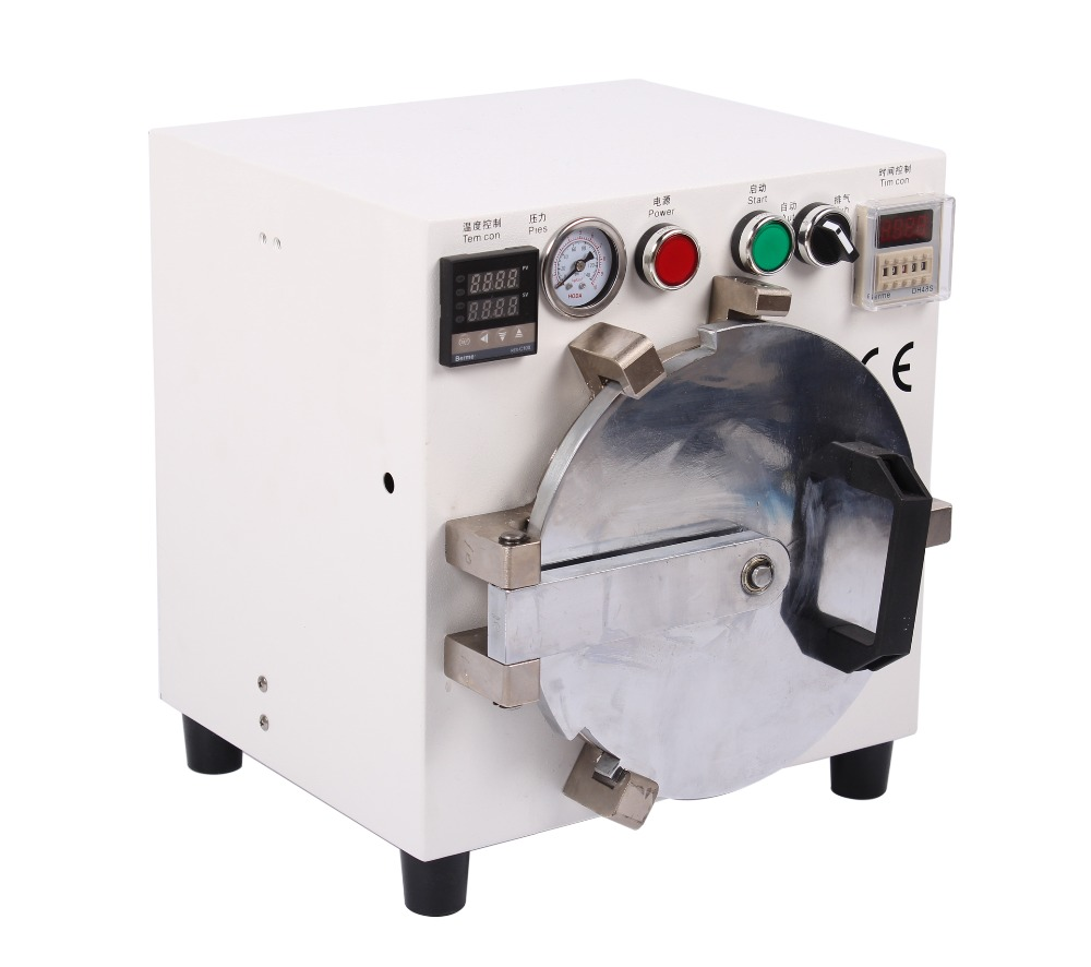 New Autoclave LCD OCA Bubble Remove Removing Machine Remover Equipment for Iphone & Sumsung & HTC LCD Repair ly 952 mini bubble oca defoam bubble removing machine need use with air compressor together