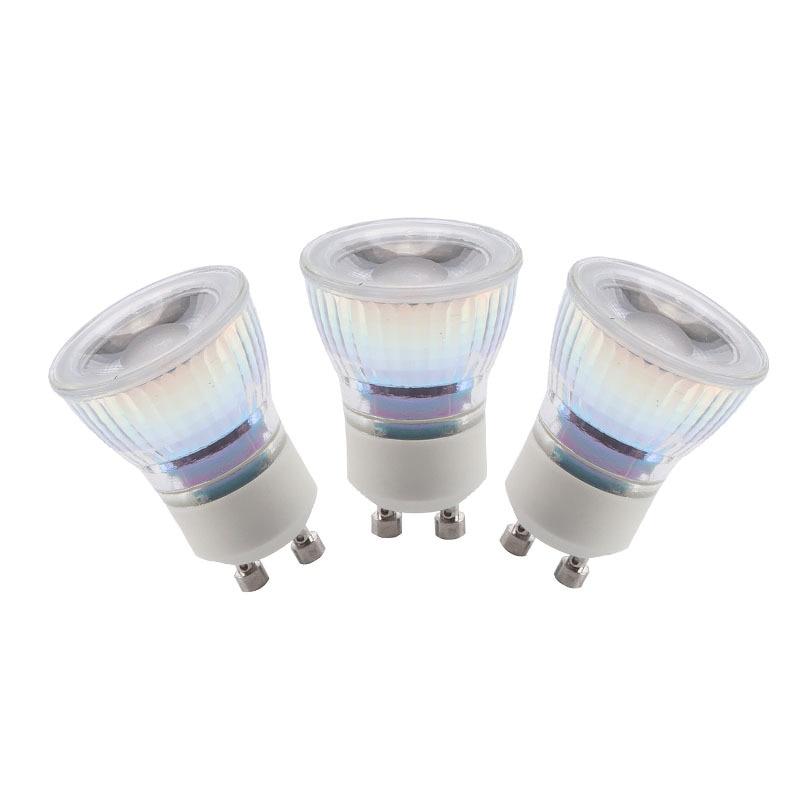 Диммируемая светодиодная мини-лампа GU10, 110 В переменного тока, 220 В, 7 Вт, 35 мм, светодиодная лампа точесветильник освещения для маленьких ювел...