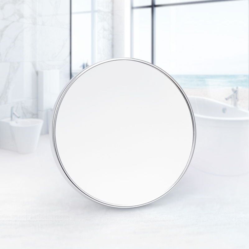 Makeup Mirror Swivel Bathroom 3X Magnifying Mirror Sucker Rotatable Mirror Beauty Double-Sided Bath Mirror Makeup