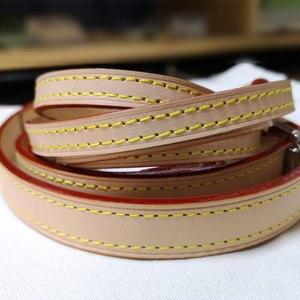 Image 3 - L сумка на ремне из натуральной кожи Регулируемая V сумка аксессуары брендовая сумка на плечо портативная Диагональная Сумка на ремне