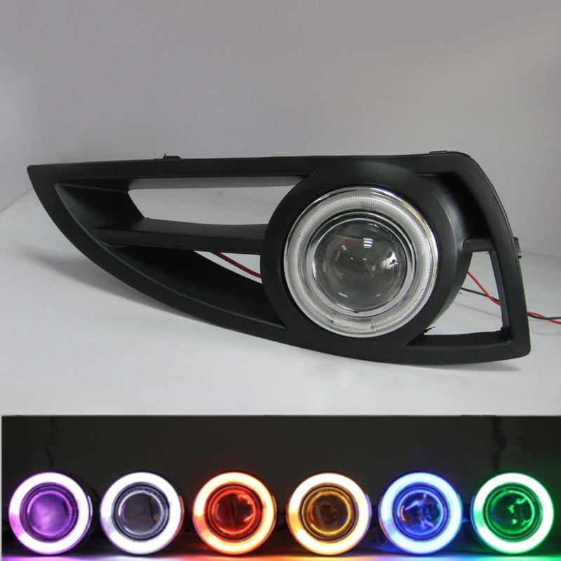 Geely MK 1,MK1,Car modified fog light assembly geely mk cross mk cross car wheel sticker car accessories