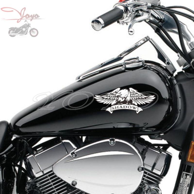 Fly Eagle Decal Fairing Stickers Fuel Tank Decals Vinyl Sticker For  Honda Shadow VT400 VT600 VT750 VLX600
