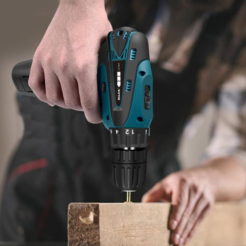 Household 12V Charging Electric Screwdriver Mini Cordless Drill Electric Drill Types Of Positive And Negative Electric Drills