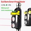 Двойные инфракрасные лучи датчик детектор для проводной домашней охранной сигнализации 30 М ~ 150 м Открытый Периметр стены