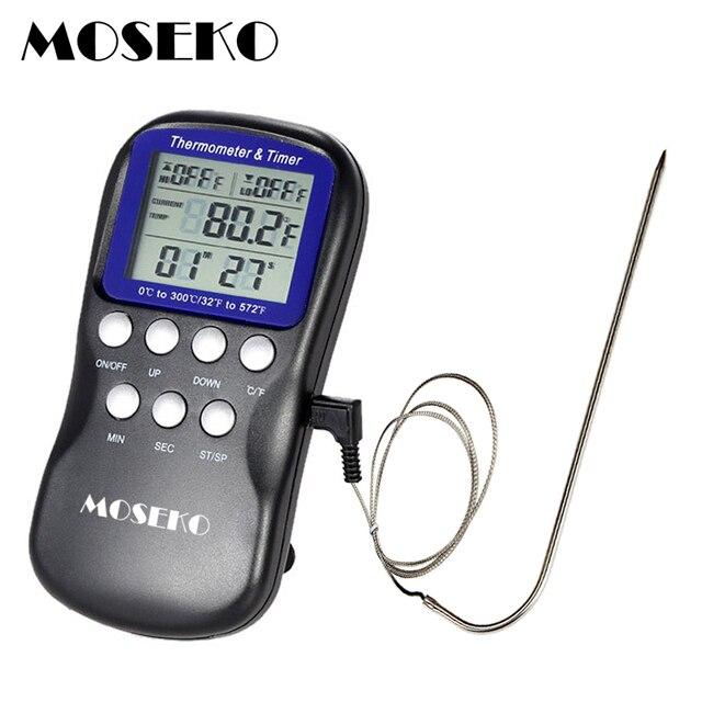 Digitale Termometro Da Forno Barbecue Della Carne Della Sonda Termometro Da Cuci