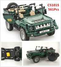 Military Weapon RC Jeep Truck Car Model Building Blocks Bricks Educational Toys For Children lepin technic  20011 20033 42065
