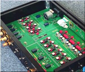 Image 5 - HiFi MBL6010 كامل التوازن نسخة Preamplifier التحكم عن بعد Preamp RCA/XLR الانتهاء Preamplifier
