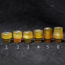 1pc MTL Drip Tip For 510 Atomizer Hot Vape Accessories Plastic Pei Material With 6 Style Mouthpiece