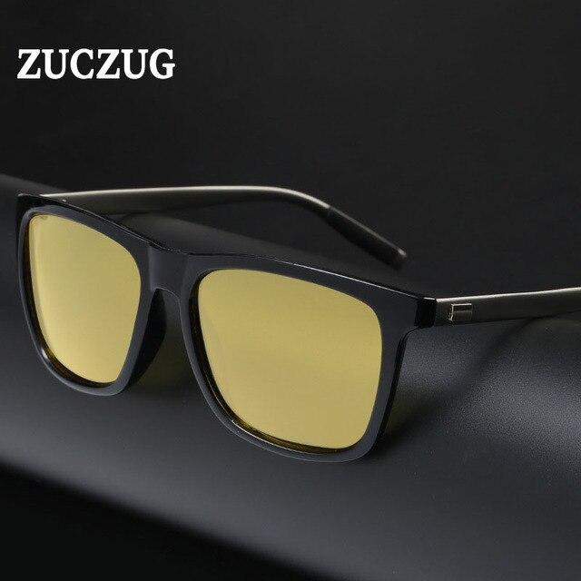 Homens Polarizada Dia e Noite Motorista Óculos de Sol de Alumínio-Magnésio  Nova Qualidade Superior 26fafefeba