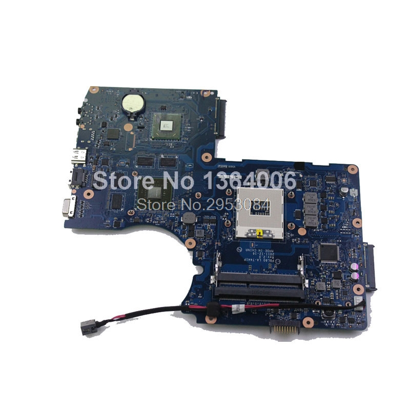 все цены на motherboard For Asus X93S K93SM X93SM laptop motherboards REV 2.0 PBL80 LA-7441P mainboard GT630M 2GB 100% tested S-4 онлайн