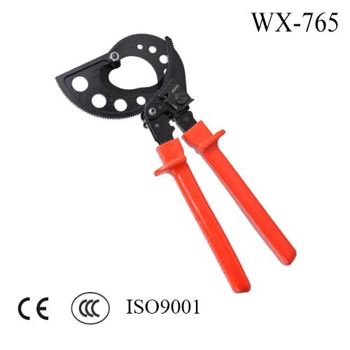 RATCHER CABLE CUTTERS WX-765 tp760 765 hz d7 0 1221a