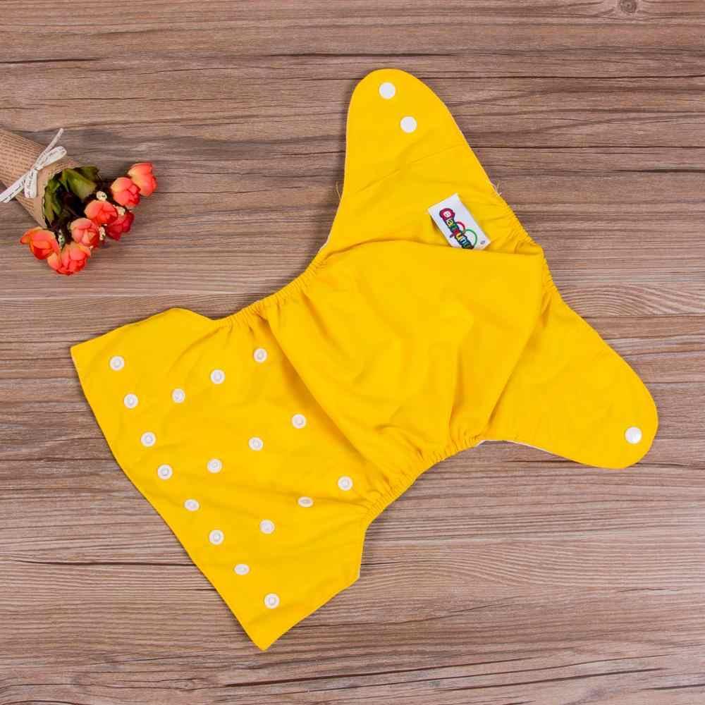 1 Pza pañales de tela reutilizables ajustables para bebés y niñas