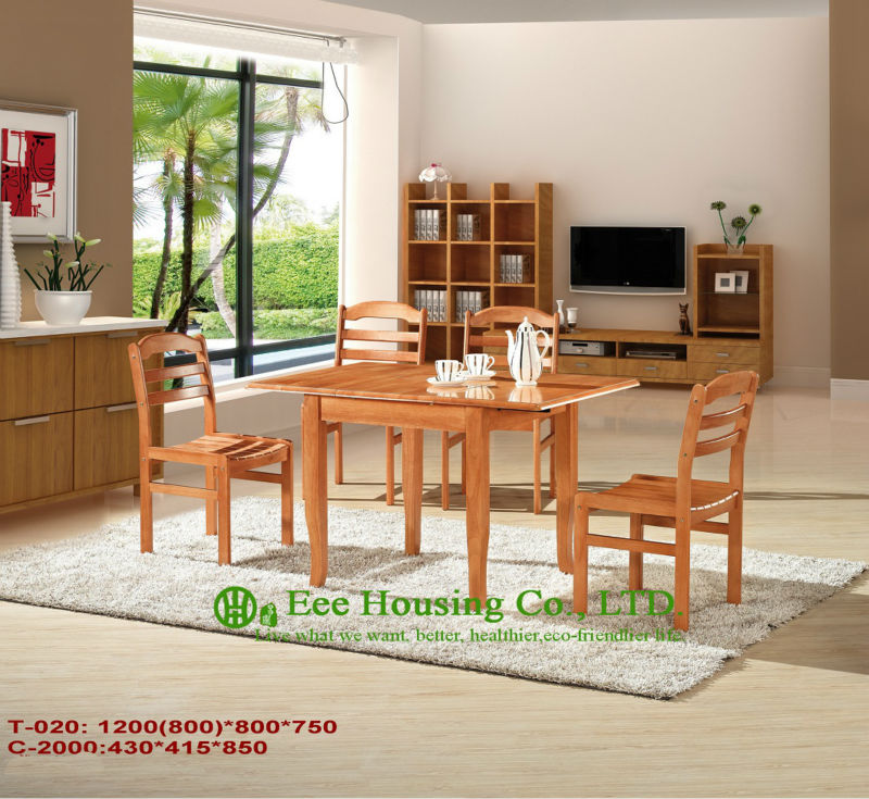 Customized Solid Dining Chair Solid Wood Dinning Table Furniture With Chairs Home Furniture T