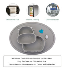 Qshare Baby Plate