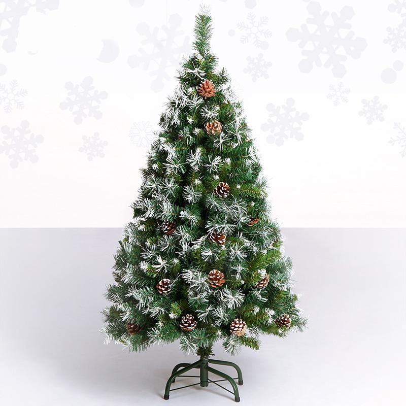 Automatic Christmas Tree: 1.2 Meters Christmas Tree 120cm White Pinecone Automatic