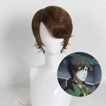 цена на The King's Avatar Dark Brown Short Cosplay Wig Men Heat Resistant Synthetic Hair Peruca