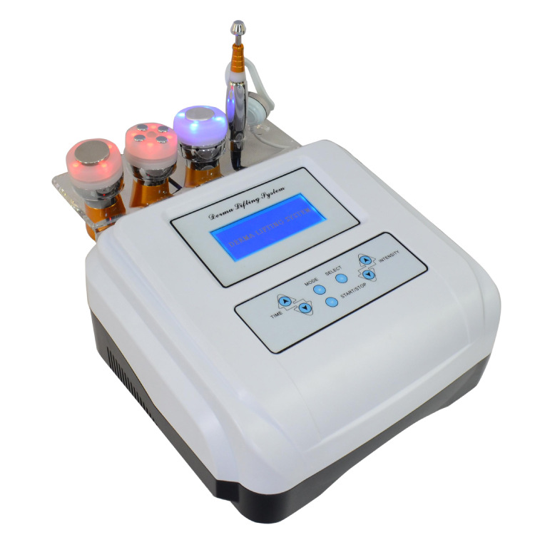 Multifunctional Skin Ascension & Tightening Beauty Equip EMS Ultrasonic Electrophoresis Stainless Steel Inductive Beauty Machine