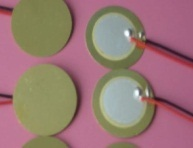 100 UNIDS X 20mm D20 Elemento Cerámico Piezoeléctrico con cable 15 CM envío libre