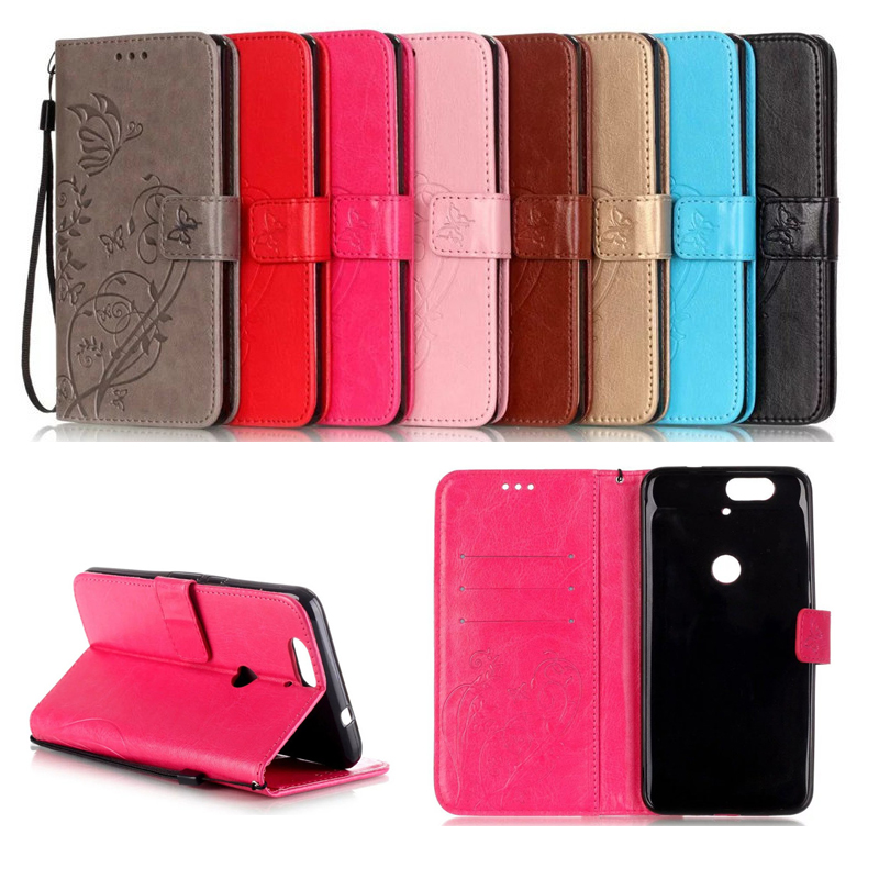 For huawei G8 P8 P9 lite 2017 <font><b>Case</b></font> Embossed butterfly Magetic Card Slot Leather <font><b>Wallet</b></font> For Cover Nexus6P <font><b>honor</b></font> <font><b>4C</b></font> 5C 5X Y625 Y6 image
