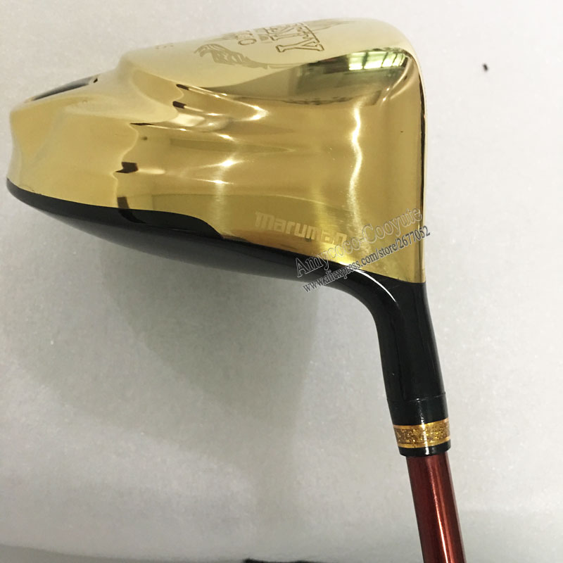 Image 4 - New Golf Clubs Maruman Majesty Prestigio 9 Golf Driver 9.5 Loft Graphite Golf shaft Right Handed Driver Free shipping Cooyute-in Golf Clubs from Sports & Entertainment