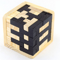 Magic Stress Cube Wooden Toy Fidget Anti Stress Educational Toys Children Gifts Learning Wood Neo Cubos