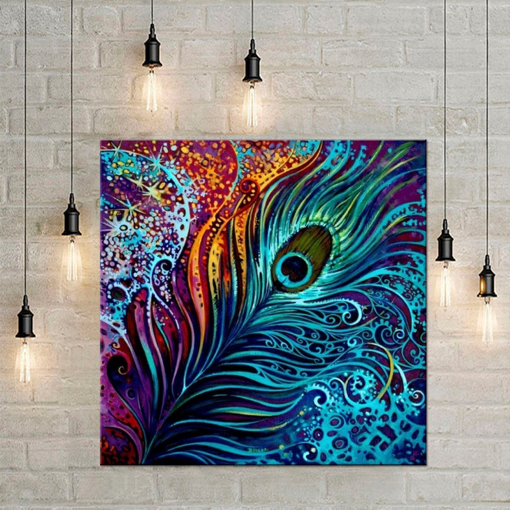 1 panel Retro Animal Feather Dream Catcher Art Prints Posters Wall ...
