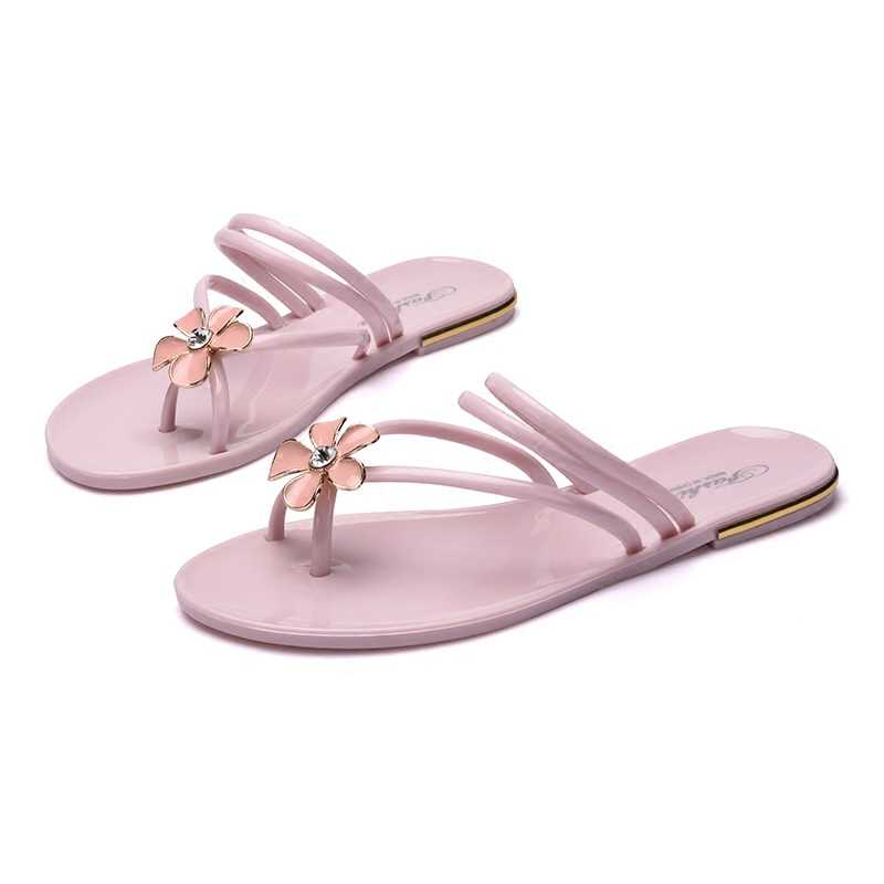 1a752b08b5e8fd Detail Feedback Questions about Summer flat with flip flops female ...