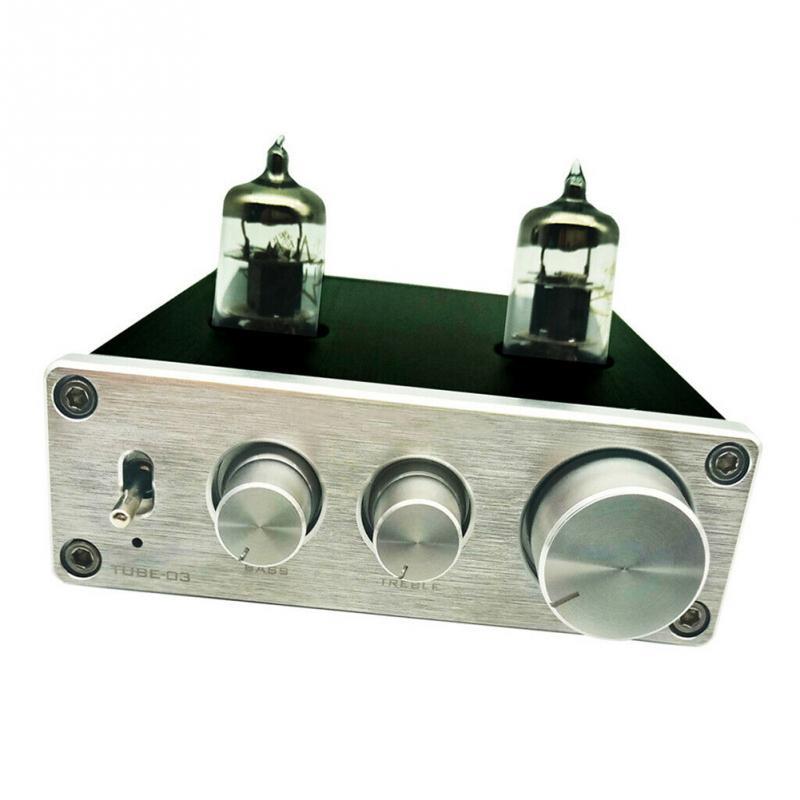 6k4 Tube HIFI Phono Vacumn maison Mini pré amplificateur platine vinyle préampli casque