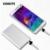 Kabeite Ultra fino 5000 mAh Power Bank Externo Portátil Carregador De Bateria de Backup Powerbank Metal shell telefones celulares cobrar
