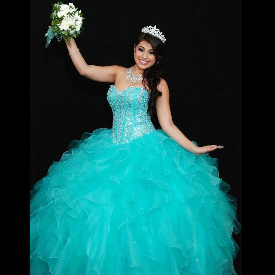 Online Get Cheap Turquoise Quinceanera Dresses -Aliexpress.com ...