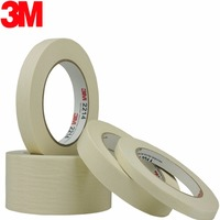 60mmx164ft 3M2214 Super strength scratch free paper tape car model mould spray paint building electronics shielding high tempera