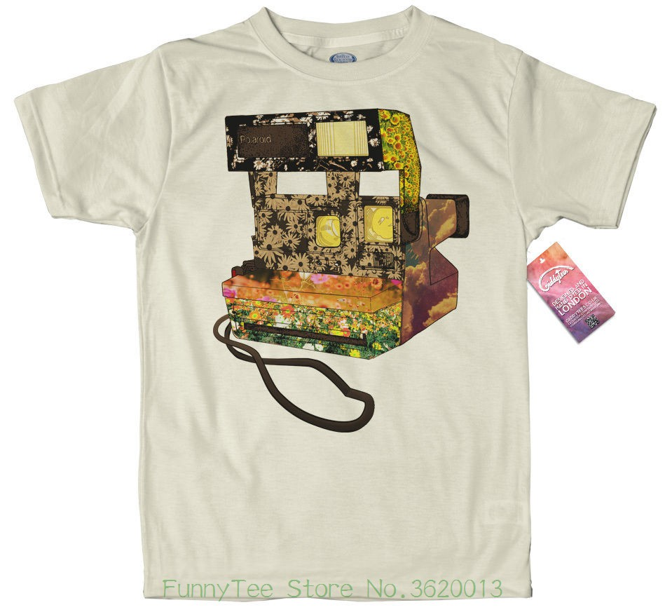 Polaroid Camera T Shirt