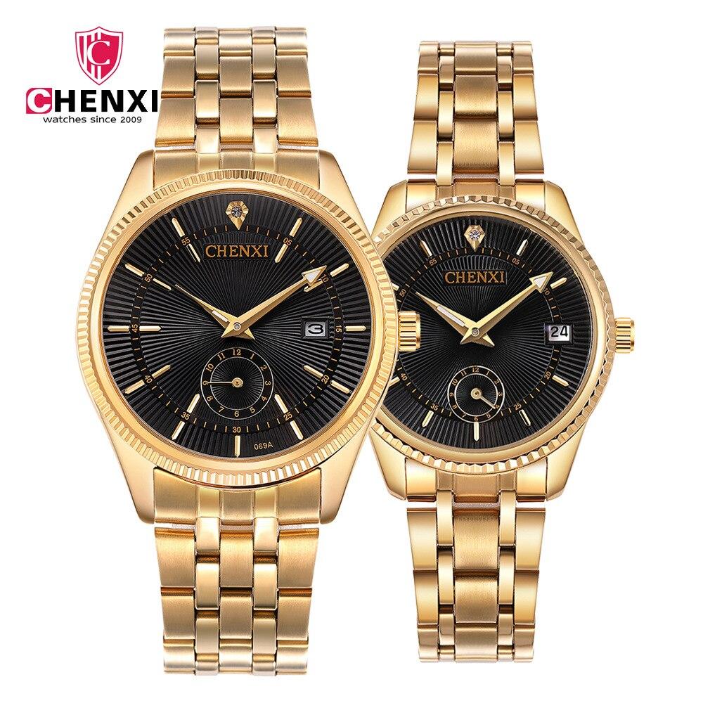 Promotion Brand Lovers Watch Creative Steel Clock Luxury Quartz Lovers Watch Casual Male Female Wristwatch Relogio Masculino