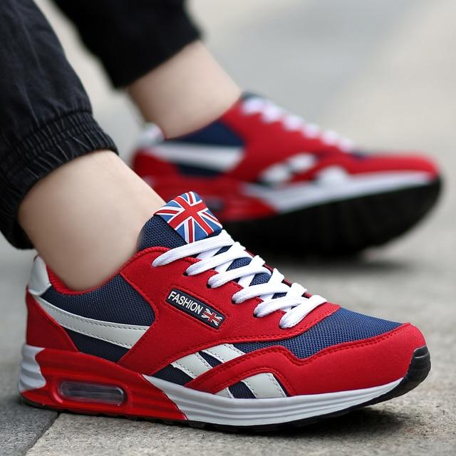 f3baf08a49 2019 zapatos vulcanizados de moda populares para hombres primavera otoño  zapatillas transpirables para adultos hombres zapatos