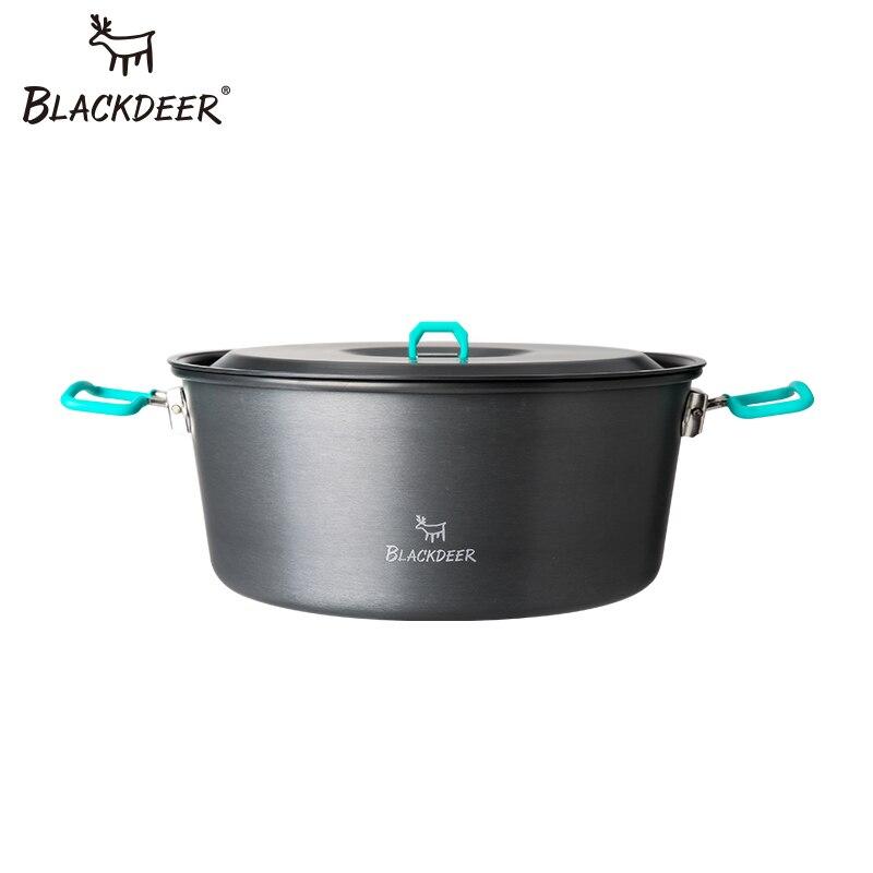 Camping en plein air cuisine Camping Frypan Pot alumine Fondue chaude chinois charbon de bois couverts Set pique-nique avec couverts ustensiles de cuisine