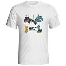 Retro Game Console T-shirt 70s 80s Childhood Memory Rock Brand Funny T Shirt Print Style Skate Women Men Top magic u t shirt dungeons dragons dnd novelty 70s 80s arcade game punk cool t shirt funny rock pop women men top