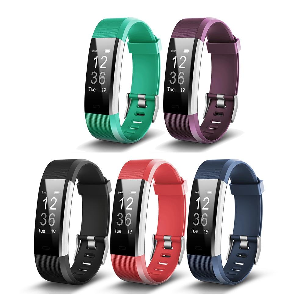 Smart Armband ID115Plus Sport Bluetooth Herz Rate Monitor Uhr Fitness Tracker W