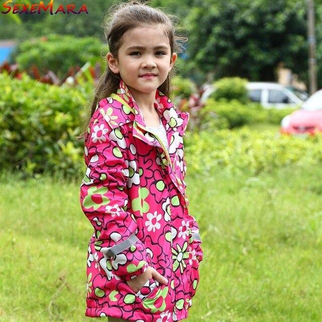 df082bf291c6 Baby Girls Jackets Child Coat Children Outerwear Warm Waterproof ...