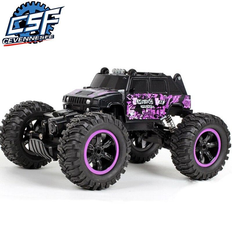 4WD eléctrico coche RC Rock Crawler de juguete de Control remoto de coches en la Radio controlado 4x4 coche- carretera juguetes para niños regalo de los niños