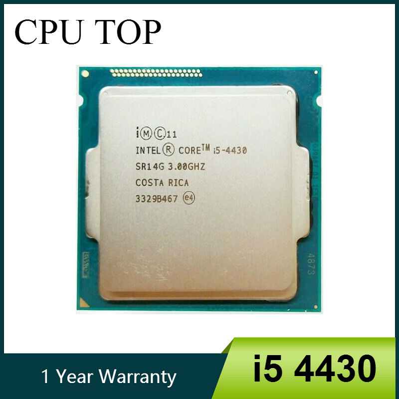 Intel Core i5 4430 3.0GHz 6MB Socket LGA1150 Quad Core CPU Processor SR14G-in CPUs from Computer & Office    1
