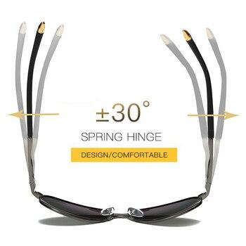 2018 HD Polarized UV 400 men's Sunglasses brand new male cool driving Sun Glasses driving eyewear gafas de sol shades with box